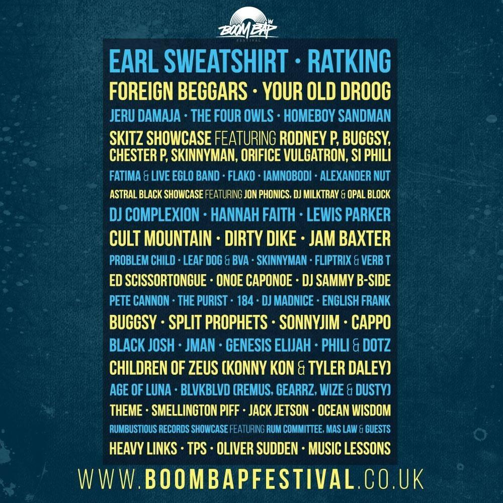 boom bap festival header