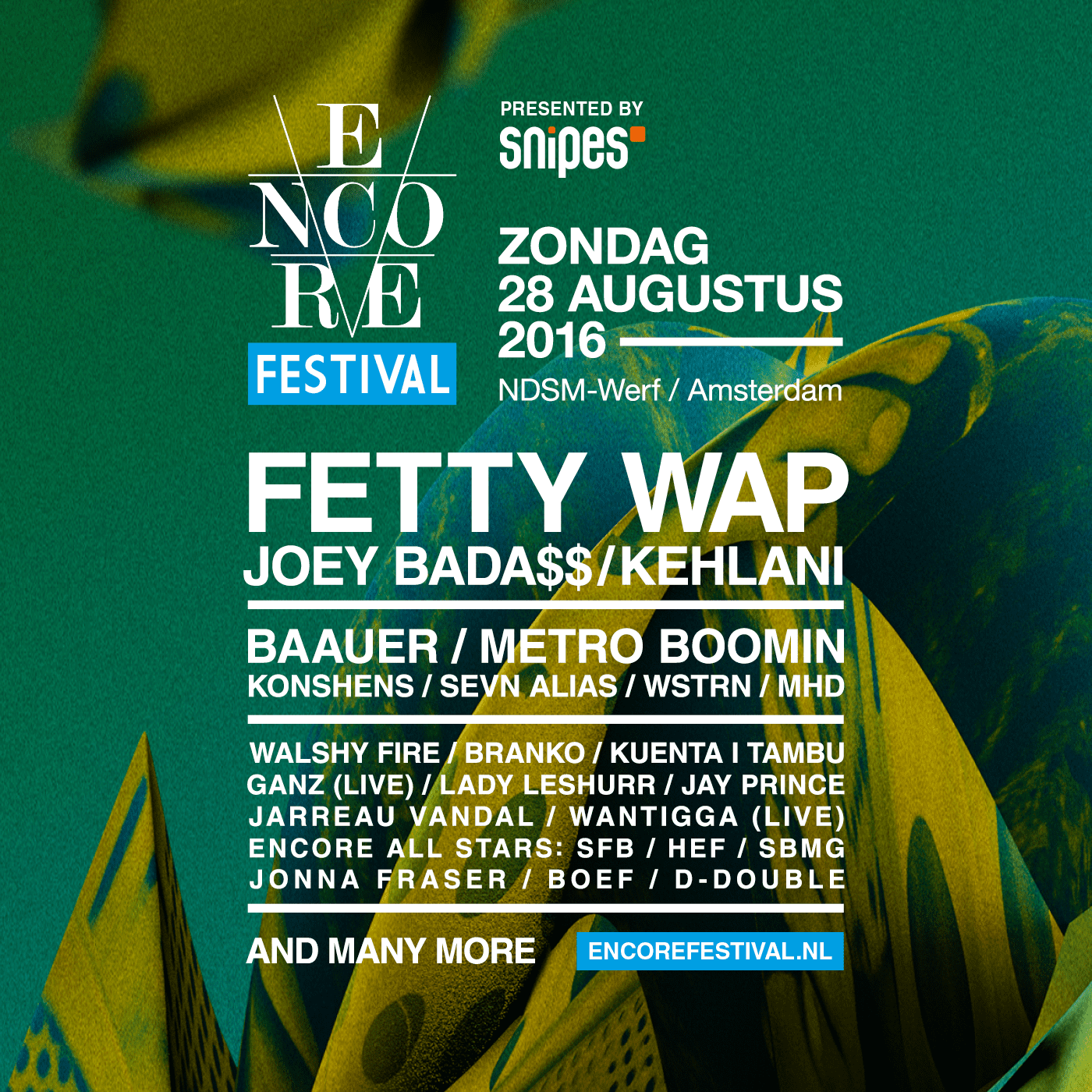 EncoreFestival2016_FB Post_1400x1400_Ronde3_Volledige Line Up_V1 (1)