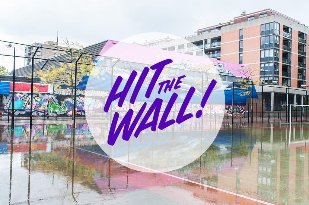 Wallspot   Schuttersveld, Crooswijk