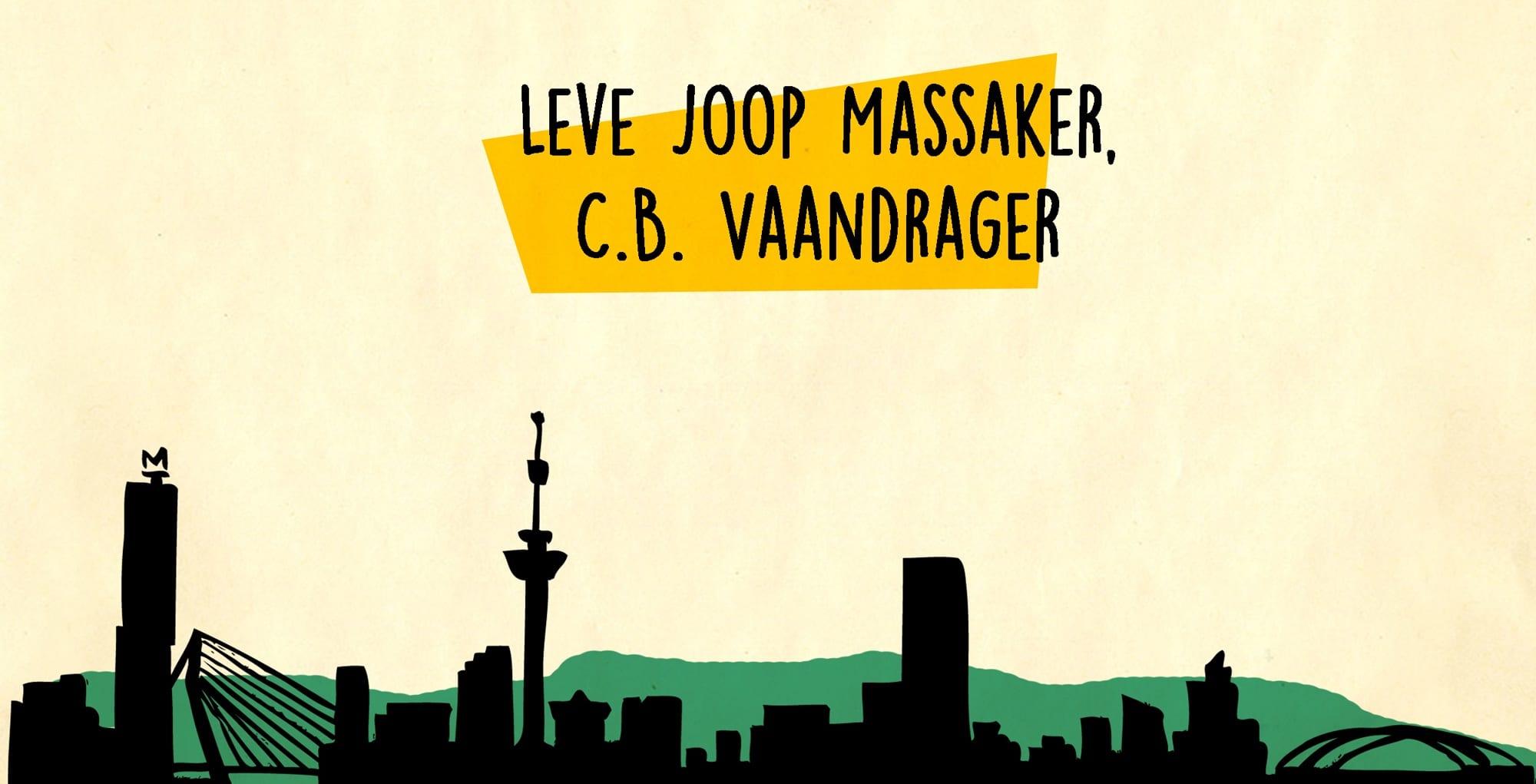 Één van de tips in Hiphop & Je Leest: Leve Joop Maasaker van C.B. Vaandrager