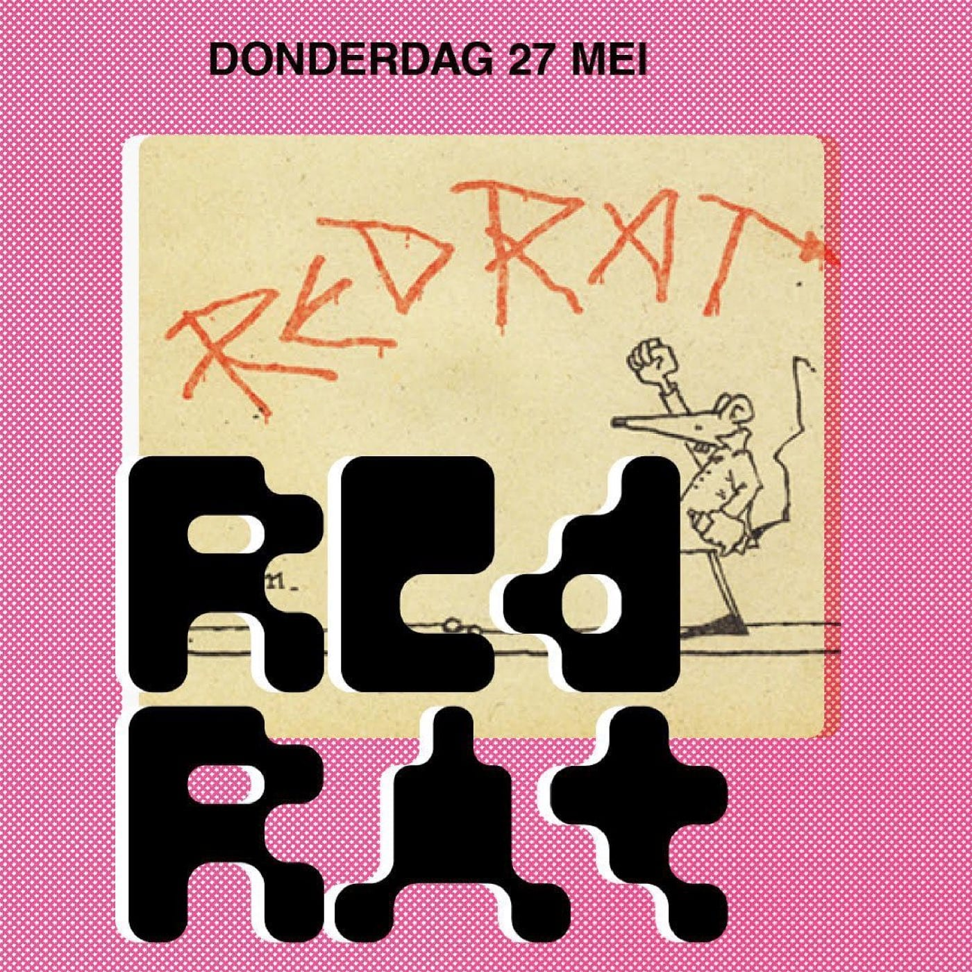 Red Rat - Kladmuur